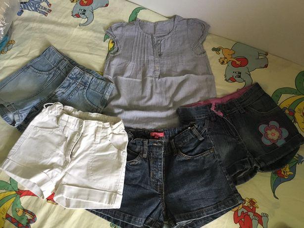 Pantaloni scurți blug