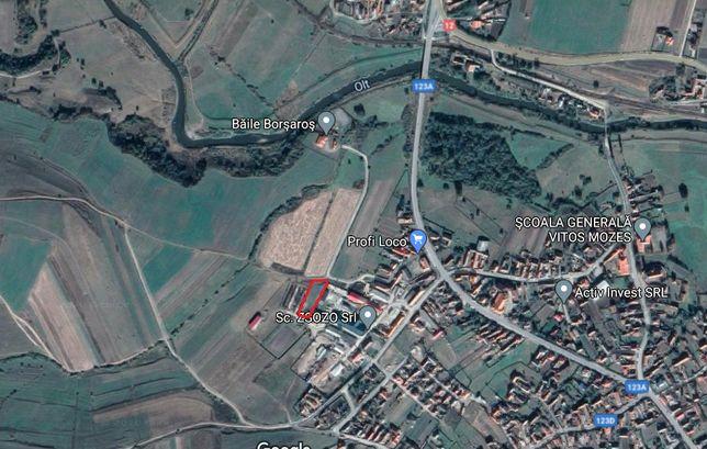 Vand teren intravilan 2194 mp in Sancraieni (zona industriala)