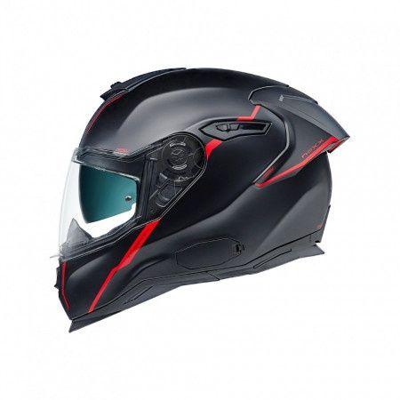 Casca moto integrala Nexx SX.100R Shorcut Red