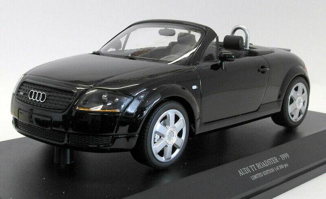 MINICHAMPS Audi TT Roadster an 1999 negru macheta din metal scara 1:18