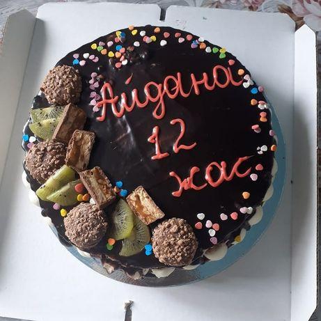 Торт на заказ доступным ценам