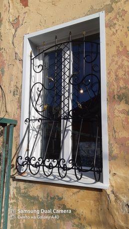 Решетки, двери, ворота, навесы, урны, мангалы и т.п изделия из металла
