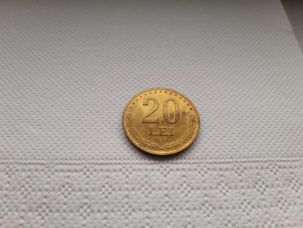 Moneda rara 20 Lei 1996