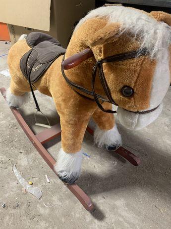 Детская кочалка лошадка