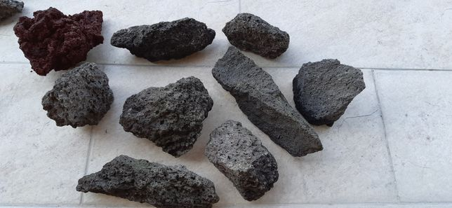 Roca/lava vulcanică pentru acvariu