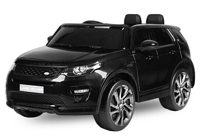 Masinuta electrica Kinderauto Land Rover Discovery DELUXE Cu MP4 Black