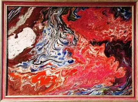 Абстрактна картина оригинал акрил на платно