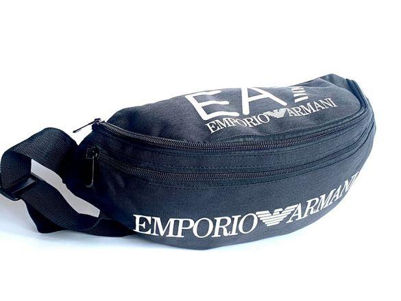 Чанта за кръст или врат тип паласка Emporio Armani