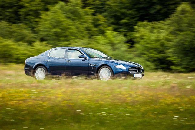 Inchiriez Maserati Quattroporte limuzina de lux pentru evenimente