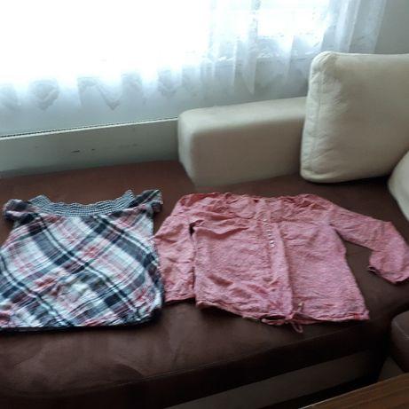 Две големи и много сладки памучни блузки-балонки