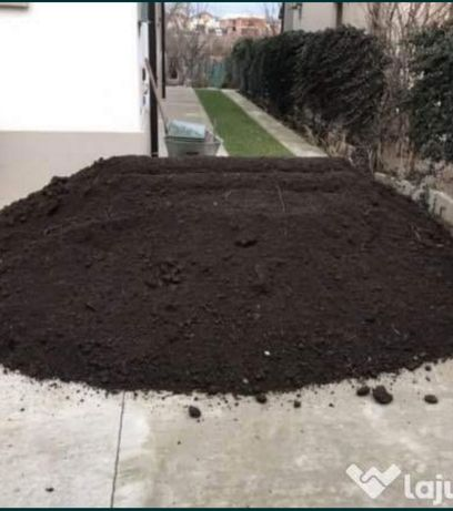 Mranița ( balegar), pamant negru vegetal pentru gradina, flori, gazon