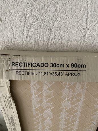 Фаянс Newton White 30x90 - плочки за стена, бели - бял мат (31 кв.м)