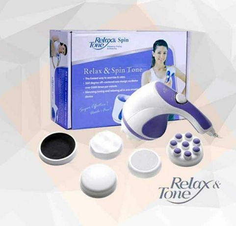 Aparat de masaj anticelulitic si relaxare Relax & SpinTone