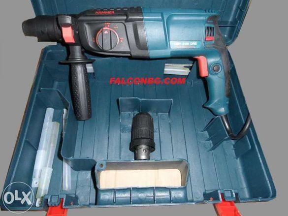 Перфоратор,бормашина,къртач 800W с три функции /налични резервни части