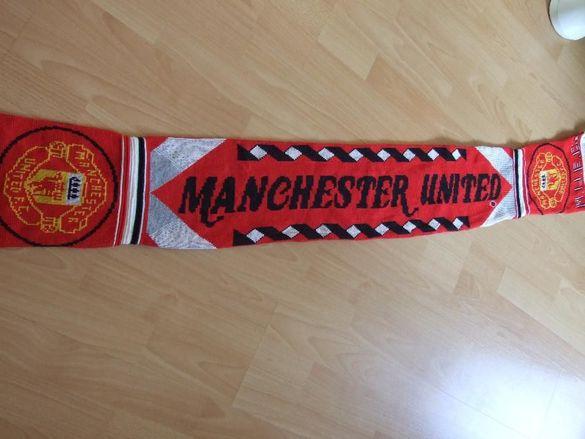 Manchester United колекционерски шал