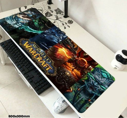 Mouse pad gaming Asus World of Warcraft League of Legends Call of Duty