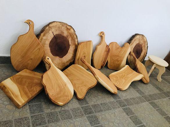 Дървени дъски -череша...
