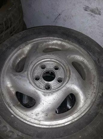 Джанти с гуми за тойота селика