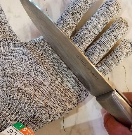 Кевоарени ръкавици за разфасоване.Против порязване при рязане на месо.