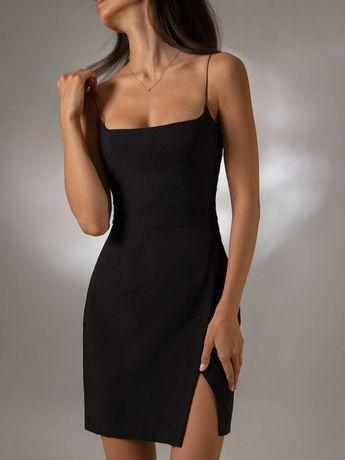 Черное платье LICHI