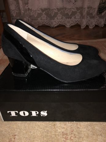 Дамски обувки-набук