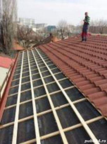 Executam lucrari de acoperisuri si reparatii