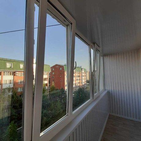Обшивка балконов, внутренняя и наружная отделка