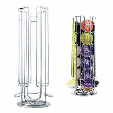 Поставка стойка за капсули Долче Густо/ Dolce Gusto въртяща се/ 24 бр.