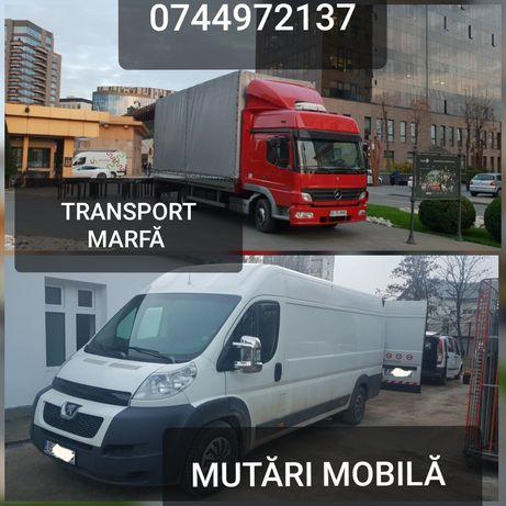 Transport marfa mutări mobila,bagaje relocari sedii Ofer manipulanti