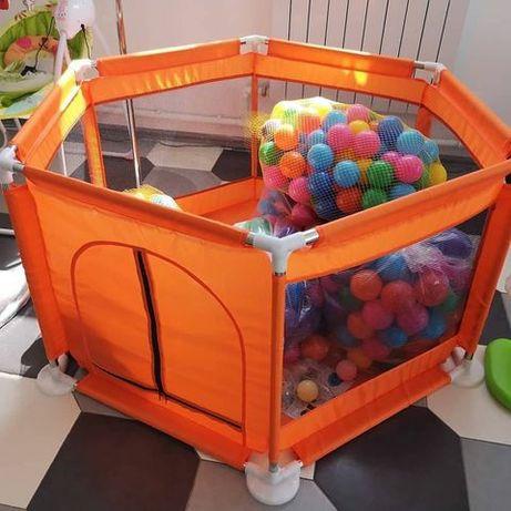 Игровой манеж с шариками, манеж детский , сухой бассейн