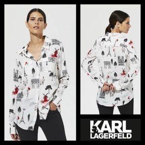 Camasa Karl Lagerfeld mas M noua