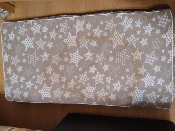 Матрас 120×60, подушка 60×30 детская и одеяло в детскую кроватку