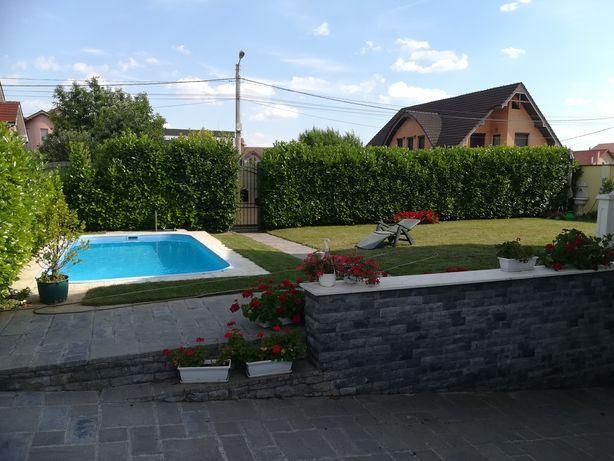vând vila cu piscina la 1 km de baile felix