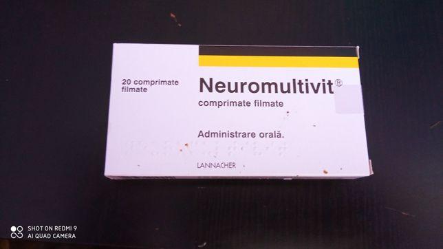 Vând urgent NEUROMULTIVIT 20 comprimate
