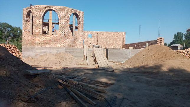 Узбек бригада с нуля дом котедж времянка баня магазин забор штукатурка