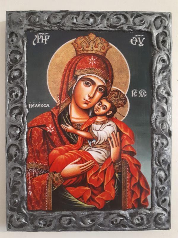 Икона на Света Богородица ikona sveta bogorodica гр. Пловдив - image 1