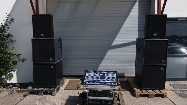 Sistem XA2 HK Audio R serie Live ( Precision Device , B&C DE 750 )