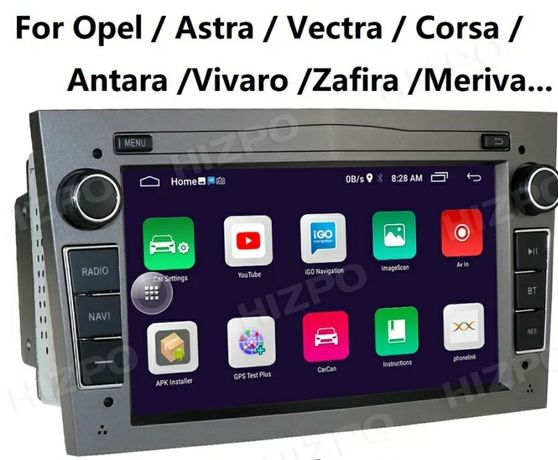 Мултимедия Опел Астра Корса Антара авто радио Зафира андроид
