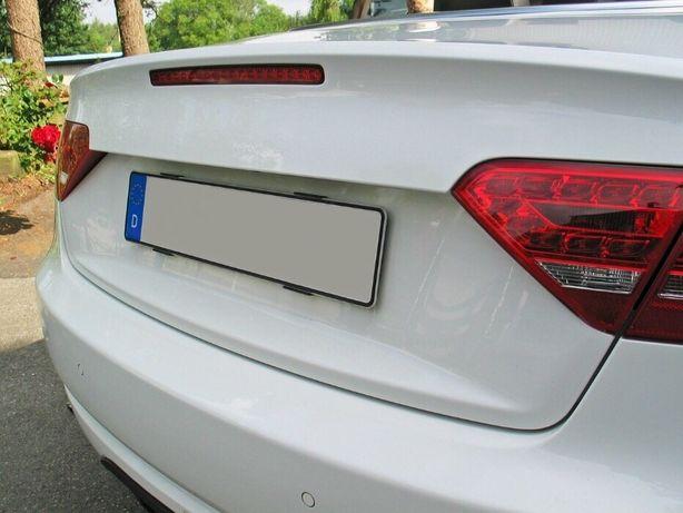 Suport numar inmatriculare auto fara rama/slim set fata/spate (NU 3D!)