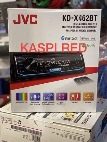 Jvc 462BT Bt usb aux radio автомагнитола магнитофон