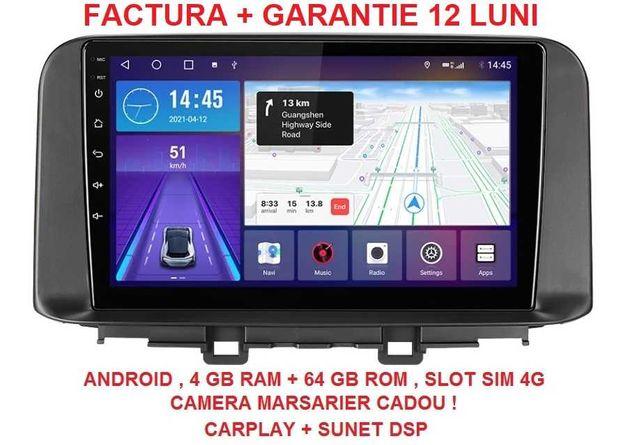 Navigatie Hyundai Kona ( 2018 + ) 4 GB RAM Noua Garantie Android