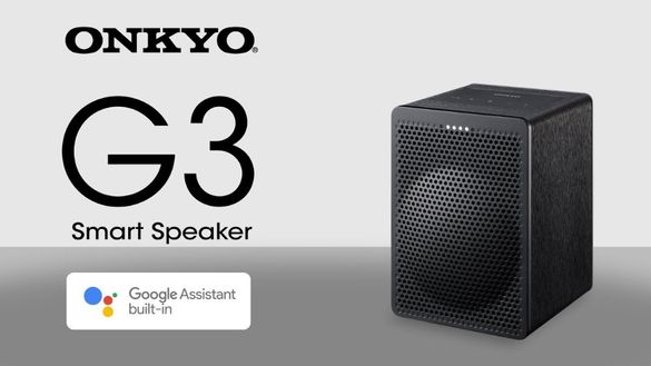 Onkyo G3 smart колонка с Google assistant