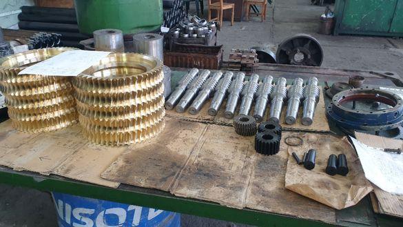 Производство на всички видове зъбни колела,Ремонт на редуктори