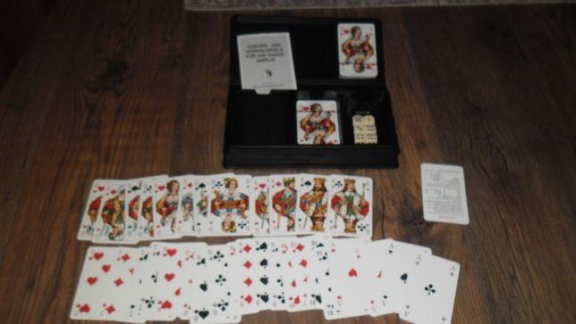 Carti de joc anii 80 set 4 in 1 noi nemtesti