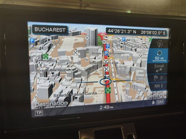 Harti Audi 2021 Actualizare Navigatie MMI A4 A5 A6 A8 Q5 Q7 etc