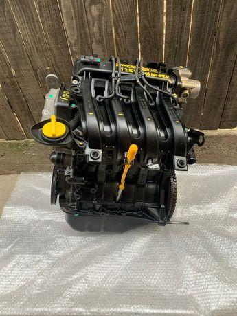 Motor Logan 1.2 16V SANDERO MCV EURO 5 D4F