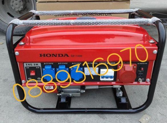 Генератор за ток HONDA Агрегат нов 3,5KW четиритактов generator Honda