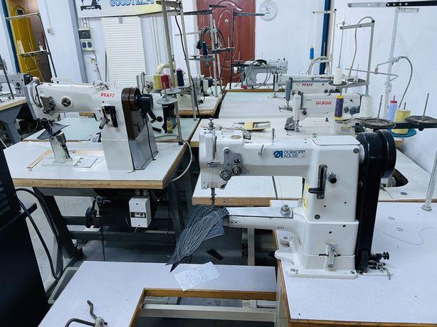 Masini de cusut industriale  piele confectii gata de utilizare