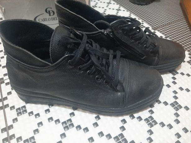 Обувь 38-39р jack Jones (кожанная) в отличном состоянии, спортмастер,