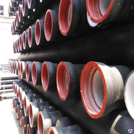 Канализационные чугунные напорные трубы соединение, отводы (Оптом)